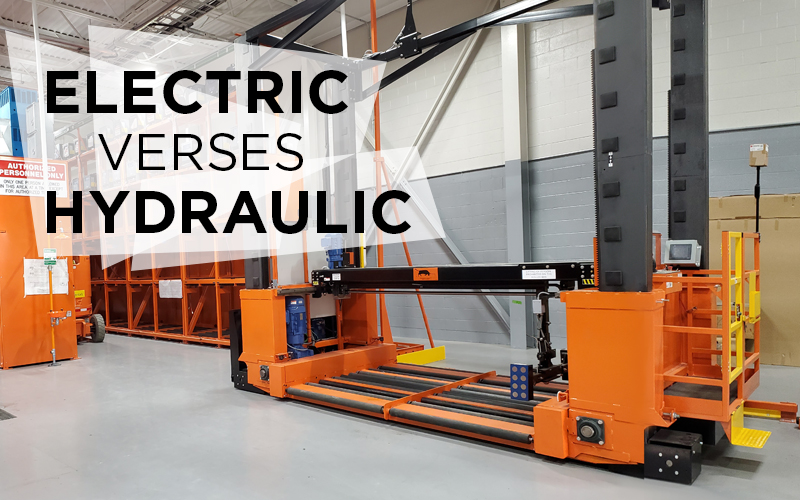 Electric Verses Hydraulic