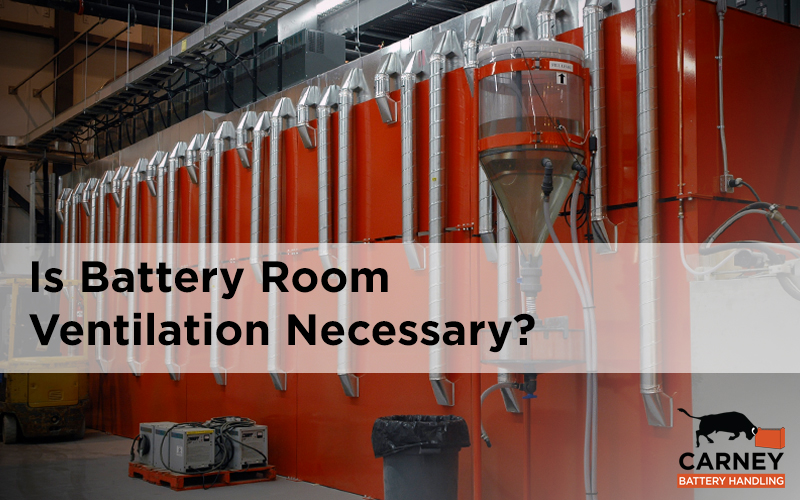 Is Battery Room Ventilation Necessary?