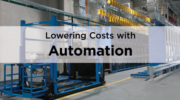 Lowering Costs with Automation