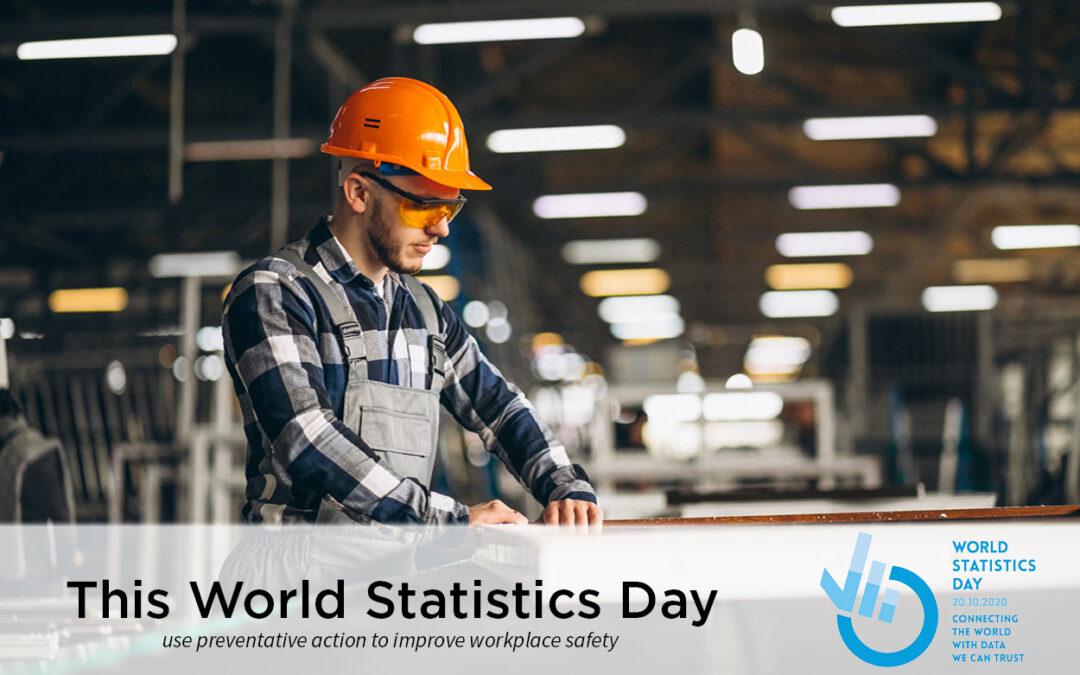 World Statistics Day - Worker in warehouse