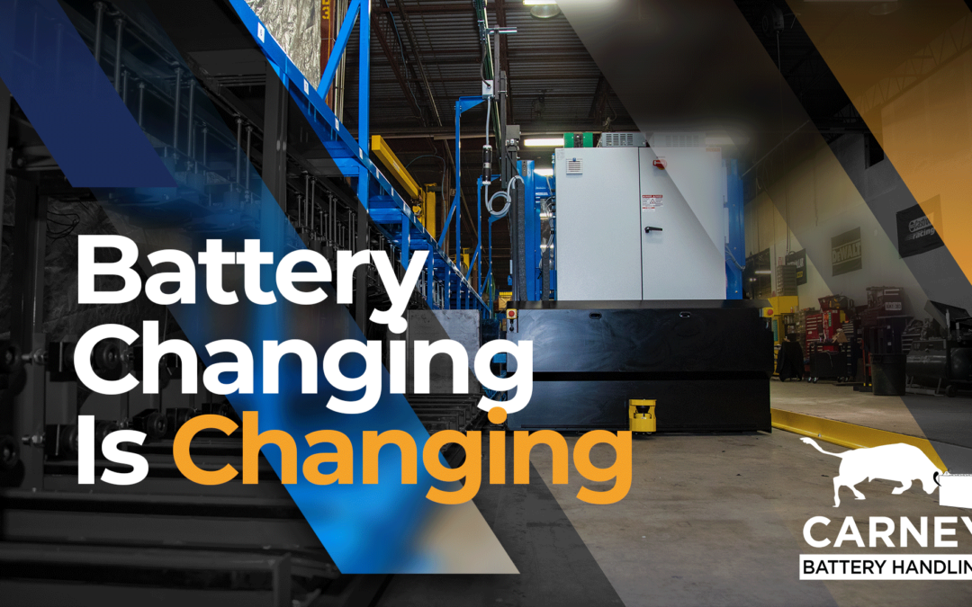 Battery Changing is Changing I The New Normal