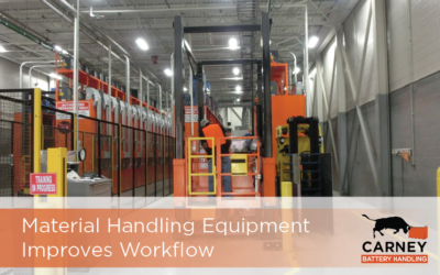 Material Handling Equipment Improves Workflow